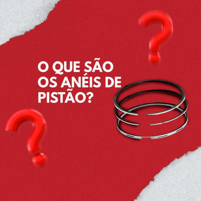 Anéis de pistão